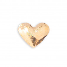 Zahnschmuck Twinkles Herz Gold klein