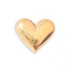 Zahnschmuck Twinkles Gold Herz gross