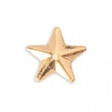 Zahnschmuck Twinkles Stern Gold gross